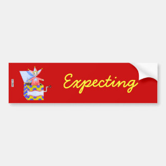 Jack-in-the-Box - Traditional Toys (Primary...) Bumper Sticker