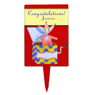 Jack-in-the-Box - Traditional Toys (Primary...) Cake Topper