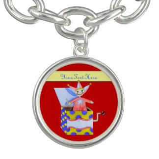 Jack-in-the-Box - Traditional Toys (Primary Colour Charm Bracelets