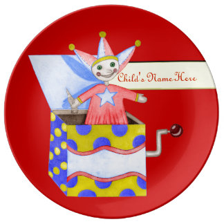 Jack-in-the-Box - Traditional Toys (Primary Colour Plate