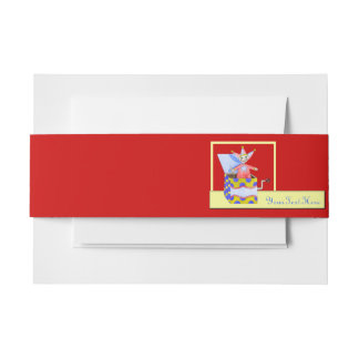 Jack-in-the-Box - Traditional Toys (Primary Colour Invitation Belly Band