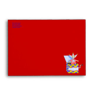 Jack-in-the-Box - Traditional Toys (Primary...) Envelope