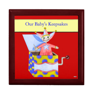 Jack-in-the-Box - Traditional Toys (Primary...) Keepsake Box