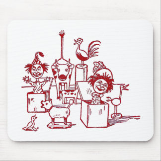 Jack in the Boxes, Birds and Cow Mouse Pad