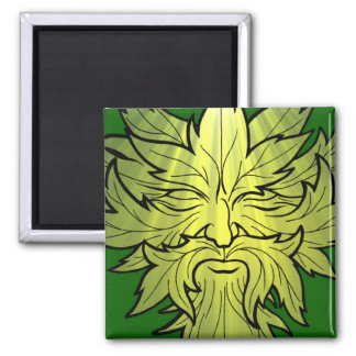 Jack in the green 2 inch square magnet