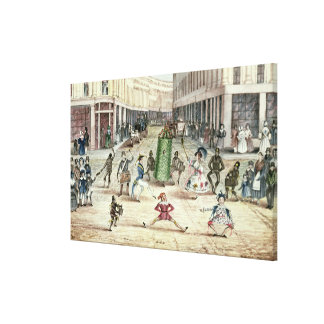 Jack in the Green, May Day Celebrations of the Chi Canvas Print
