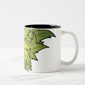 Jack in the green Two-Tone coffee mug