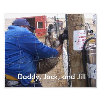 Jack, Jill, and Randy Photo Print