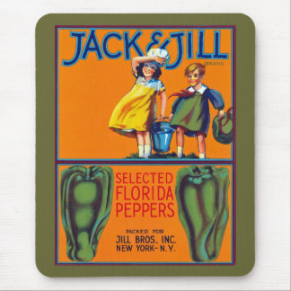 Jack & Jill Florida Peppers Mouse Pad