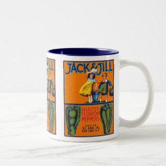Jack & Jill Florida Peppers Mugs