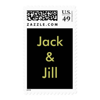 Jack & Jill postage stamp