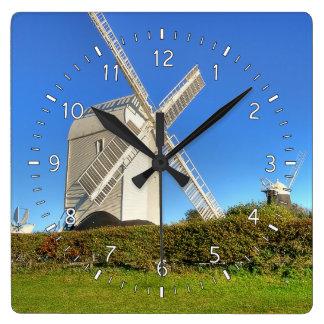 Jack & Jill Square Wall Clock