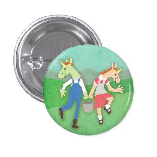 Jack Jill Unicorn Button