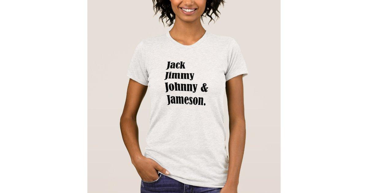Jack Jimmy Johnny and Jameson  Irish Mens Graphic Tank Top
