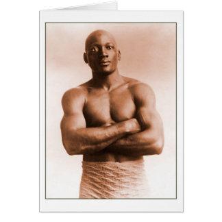 Jack Johnson American Boxer Cards