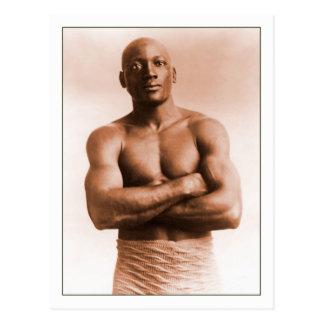 Jack Johnson American Boxer Postcards