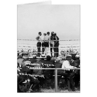 Jack Johnson vs. Fireman Jim Flynn Boxing: 1912 Card