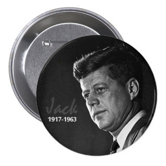 Jack Kennedy 1917-1963 Pin Redondo 7 Cm