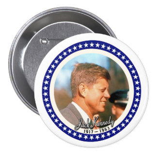 Jack Kennedy 3 Inch Round Button