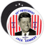 Jack Kennedy memorial pinback Pin