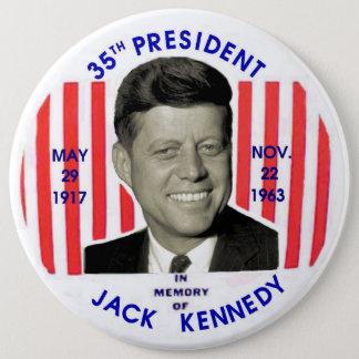 Jack Kennedy memorial pinback Pinback Button