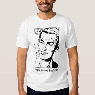 Jack Knows Business T-m Shirt