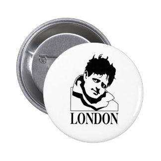 Jack London 2 Inch Round Button