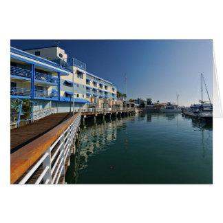Jack London Square Marina Panorama Card