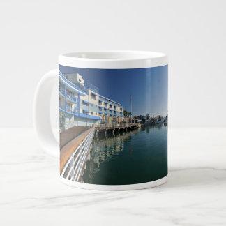 Jack London Square Marina Panorama Giant Coffee Mug