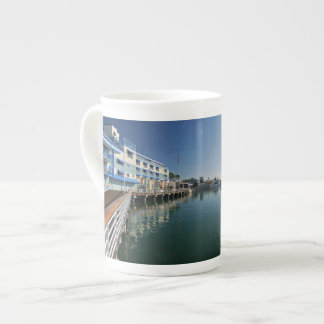 Jack London Square Marina Panorama Tea Cup