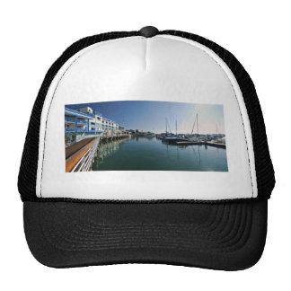 Jack London Square Marina Panorama Trucker Hat