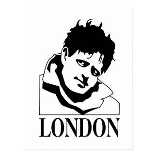 Jack London Tarjeta Postal