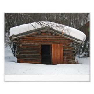 Jack London's Log Cabin Photographic Print