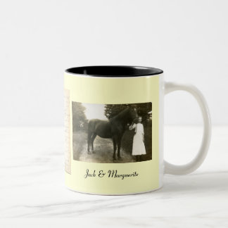 Jack & Marguerite Two-Tone Coffee Mug