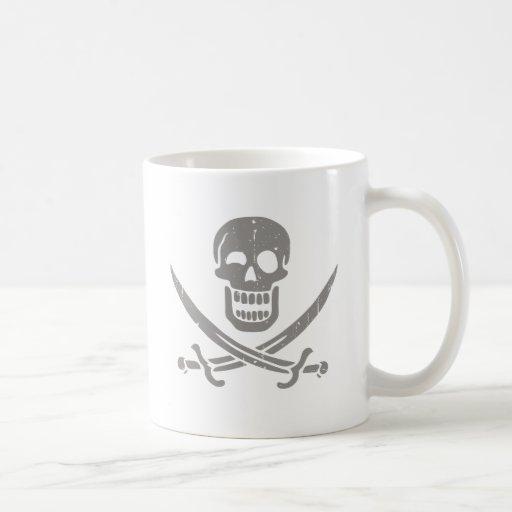 Jack más alegre tazas de café