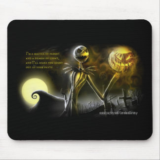 Jack-Master of Fright-Demon of Light Mouse Pad