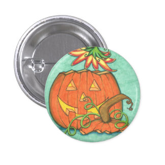 Jack n Flowers Button
