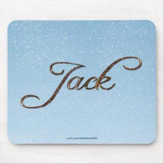 JACK Name Personalised Gift Mousepad