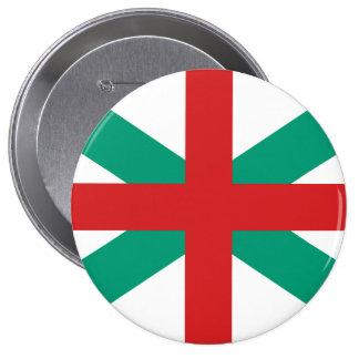 Jack naval Bulgaria, Bulgaria Pin Redondo De 4 Pulgadas