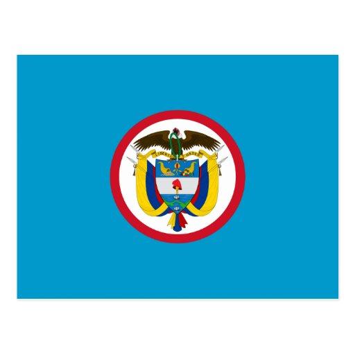 Jack naval de Colombia, Colombia Tarjeta Postal