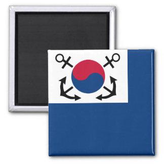 Jack naval de la Corea del Sur, bandera de Suráfri Imán Para Frigorifico