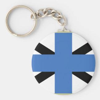 Jack naval Estonia, Estonia Llavero Personalizado