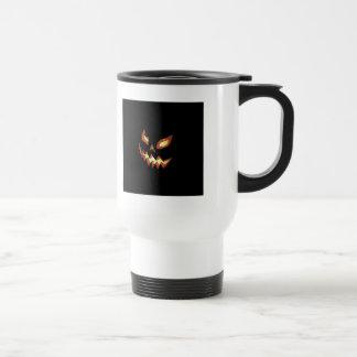 Jack O Lantern 15 Oz Stainless Steel Travel Mug
