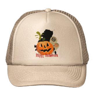 Jack-O-Lantern and Graves Hats