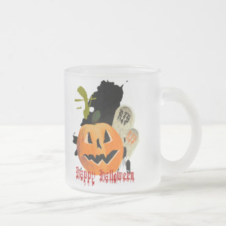 Jack-O-Lantern and Graves Mugs