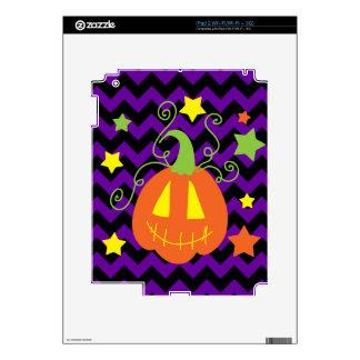Jack o Lantern and Stars Skin For The iPad 2