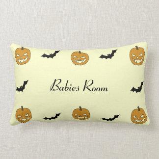 Jack O lantern Baby Throw Pillows