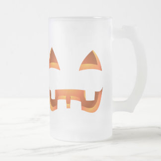 Jack-o-lantern Beer Mug Halloween Pumpkin Mugs / C