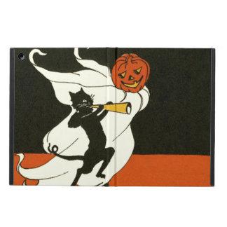 Jack O' Lantern Black Cat Ghost Horn iPad Air Cover