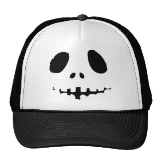 jack o lantern black Halloween Trucker Hat